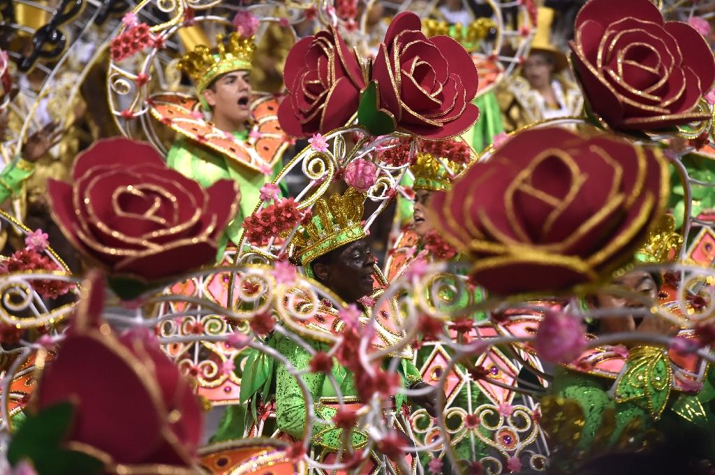 Rio Carnival conquers Zika fears with repellent and samba