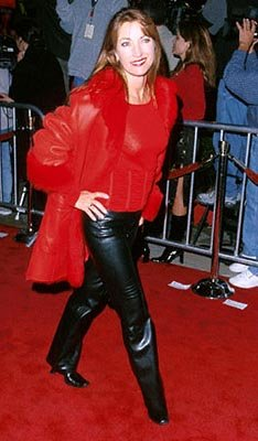 Premiere: Jane Seymour struts (POW!) at the Mann Village Theater premiere of 20th Century Fox's Bedazzled - 10/17/2000