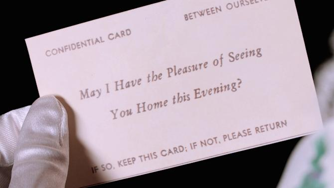 The 19th Century Tinder: Welcome To The Racy World of Escort Cards