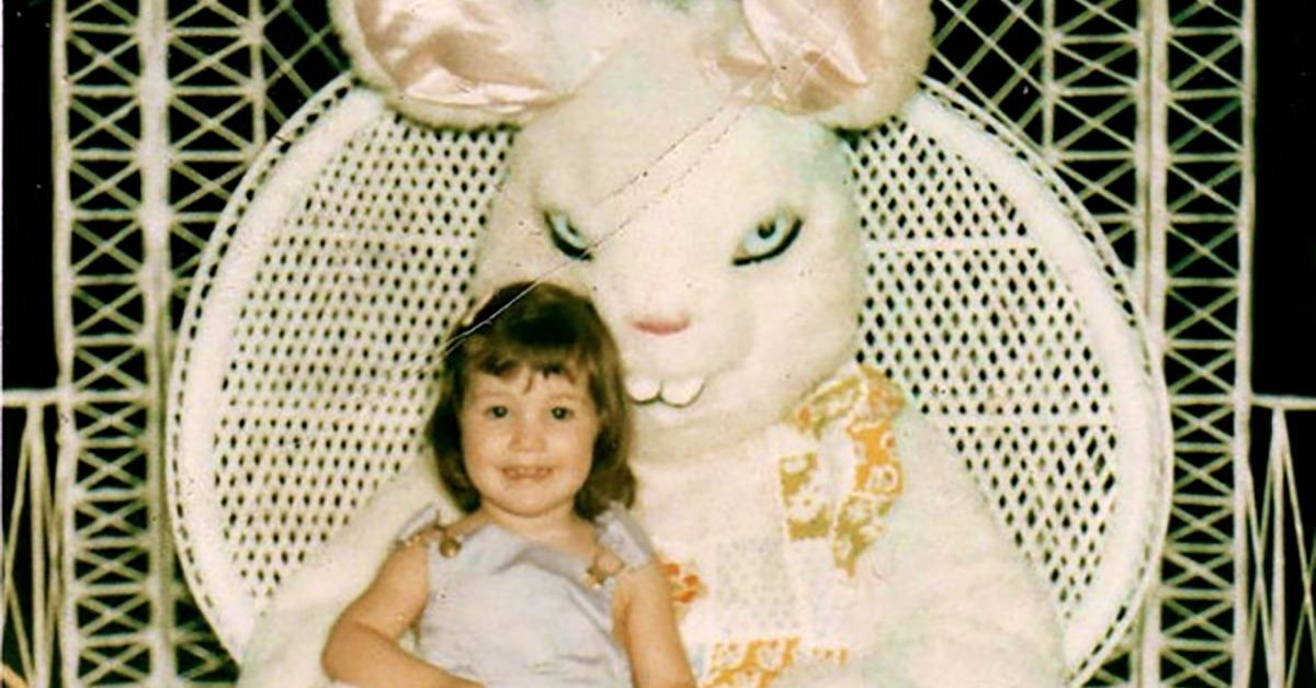 15 Most DISTURBING Photos With The Easter Bunny