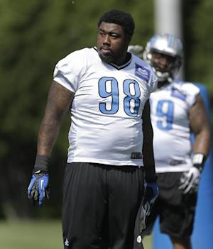 Lions' Nick Fairley gets probation, fine for DUI
