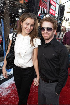 Seth Green and guest at the Hollywood premiere of Warner Bros. Pictures' Fred Claus