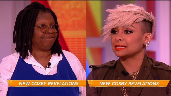 Whoopi Goldberg And Raven-Symoné Continue To Defend Bill Cosby