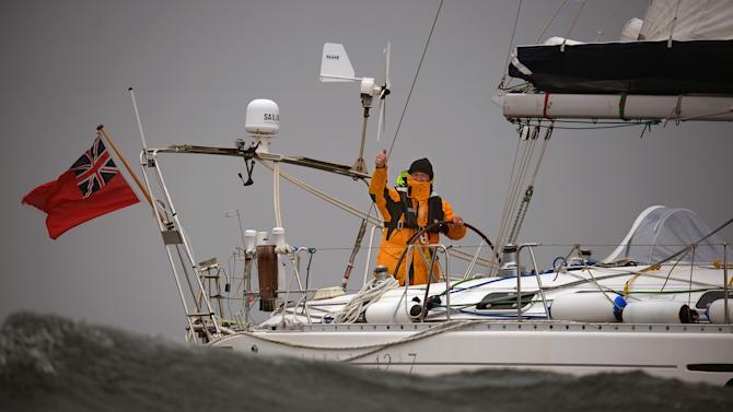 First Deaf Person To Sail Solo Around The World Returns To Scotland.