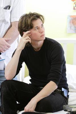 Kimberly Peirce on the set of Paramount Pictures' Stop-Loss