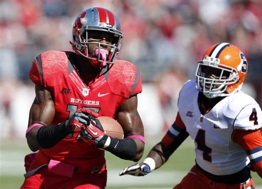 No. 20 Rutgers stays unbeaten with 23-15 win