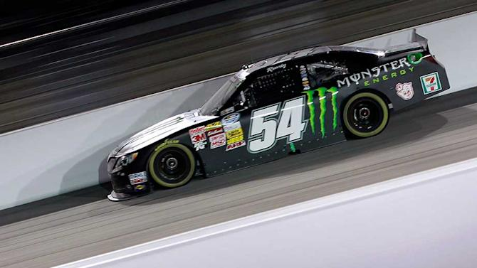 Kyle Busch wins from pole at Darlington