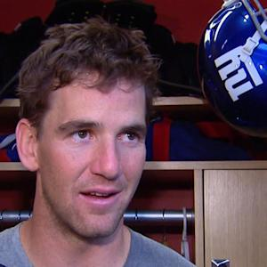 Eli Manning reacts to NFL player arrests