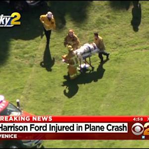 Harrison Ford Injured After Crashing Small Plane Onto Venice Golf Course
