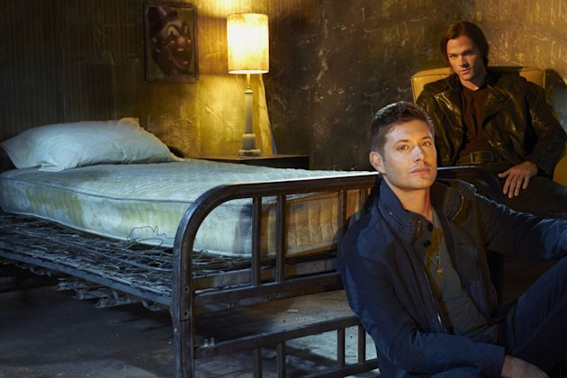 Jensen Ackles as Dean Winchester and Jared Padalecki as Sam Winchester in &quot;Supernatural.&quot; 