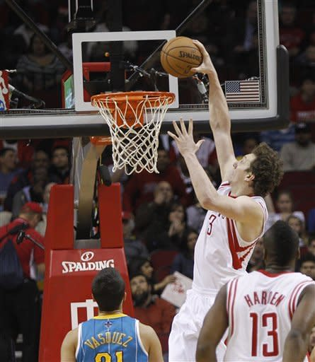 Harden scores 31 as Rockets beat Hornets 104-92