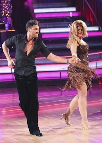 Maksim Chmerkovskiy and Kirstie Alley perform on the &#39;Dancing with the Stars: All-Stars&#39; Season finale, Nov. 27, 2012 -- ABC