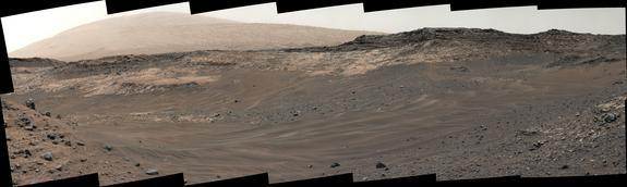 Slippery Slopes on Mars Send Curiosity Rover on Detour