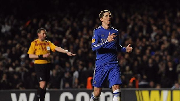 Fernando Torres endured an evening of mixed fortunes for Chelsea