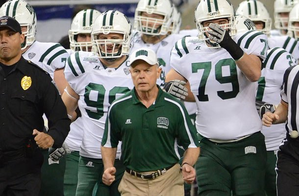 Frank Solich led Ohio to the MAC Championship game in 2011. (Getty Images)