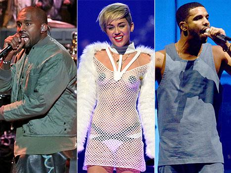 Top 5 Albums, Top 5 Singles of 2013 Include Hits From Daft Punk, Miley Cyrus, Kanye West, and More