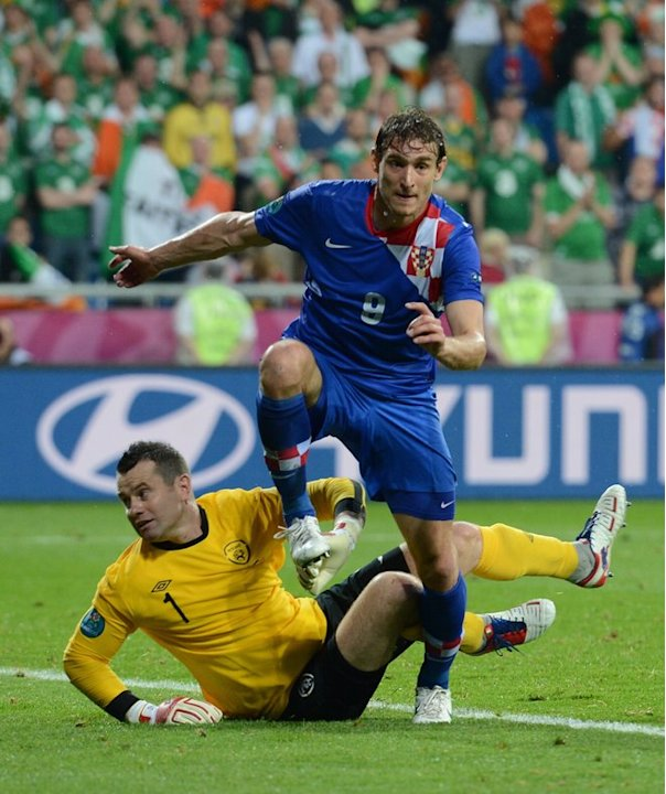 Croatian Forward Nikica Jelavic …