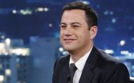 "This July 3, 2013 image shows Jimmy Kimmel on ""Jimmy Kimmel Live."" THE CANADIAN PRESS/AP, ABC, Randy Holmes"