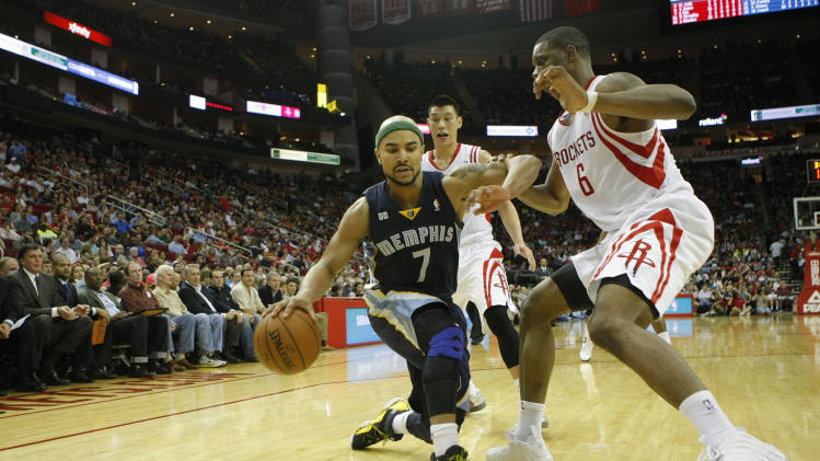 NBA: Memphis Grizzlies at Houston Rockets