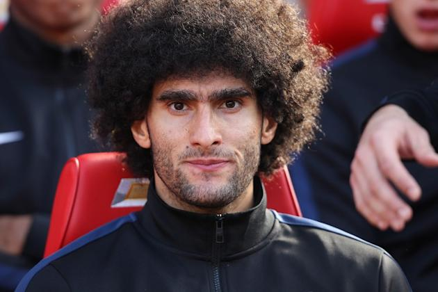 Marouane Fellaini facing up to two months on the sidelines with wrist injury