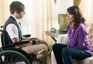 Kevin McHale and Katey Sagal  | Photo Credits: Adam Rose/FOX