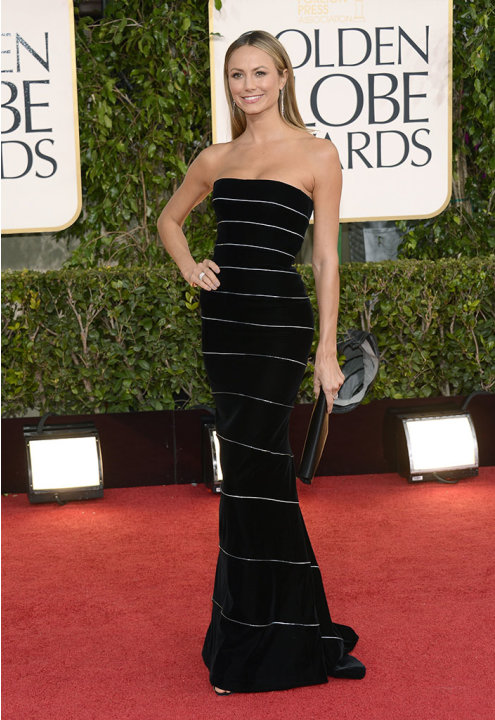 "NBC's ""70th Annual Golden Globe Awards"" - Arrivals: Stacy Keibler"