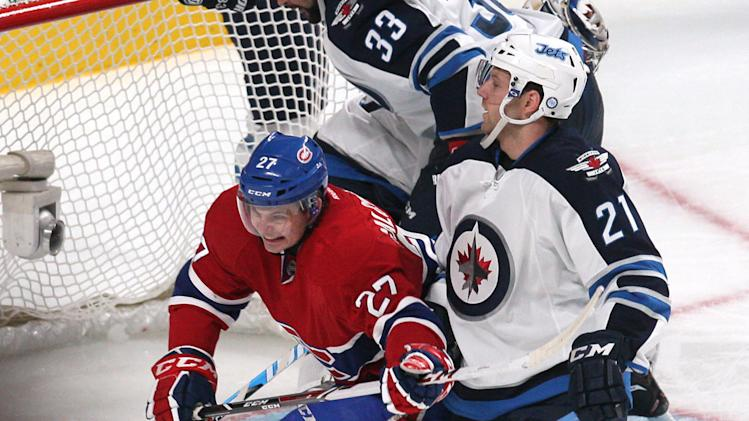 NHL: Winnipeg Jets at Montreal Canadiens