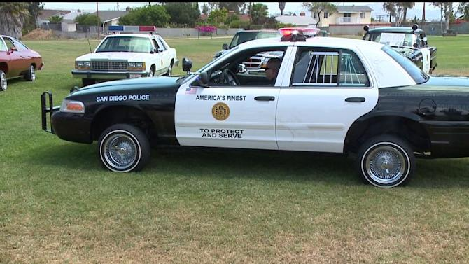 San Diego Police Department Unveils New Set Of Wheels