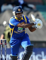Angelo Mathews will be Sri Lanka's T20 captain until October 2013