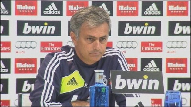 Press conf Mourinho