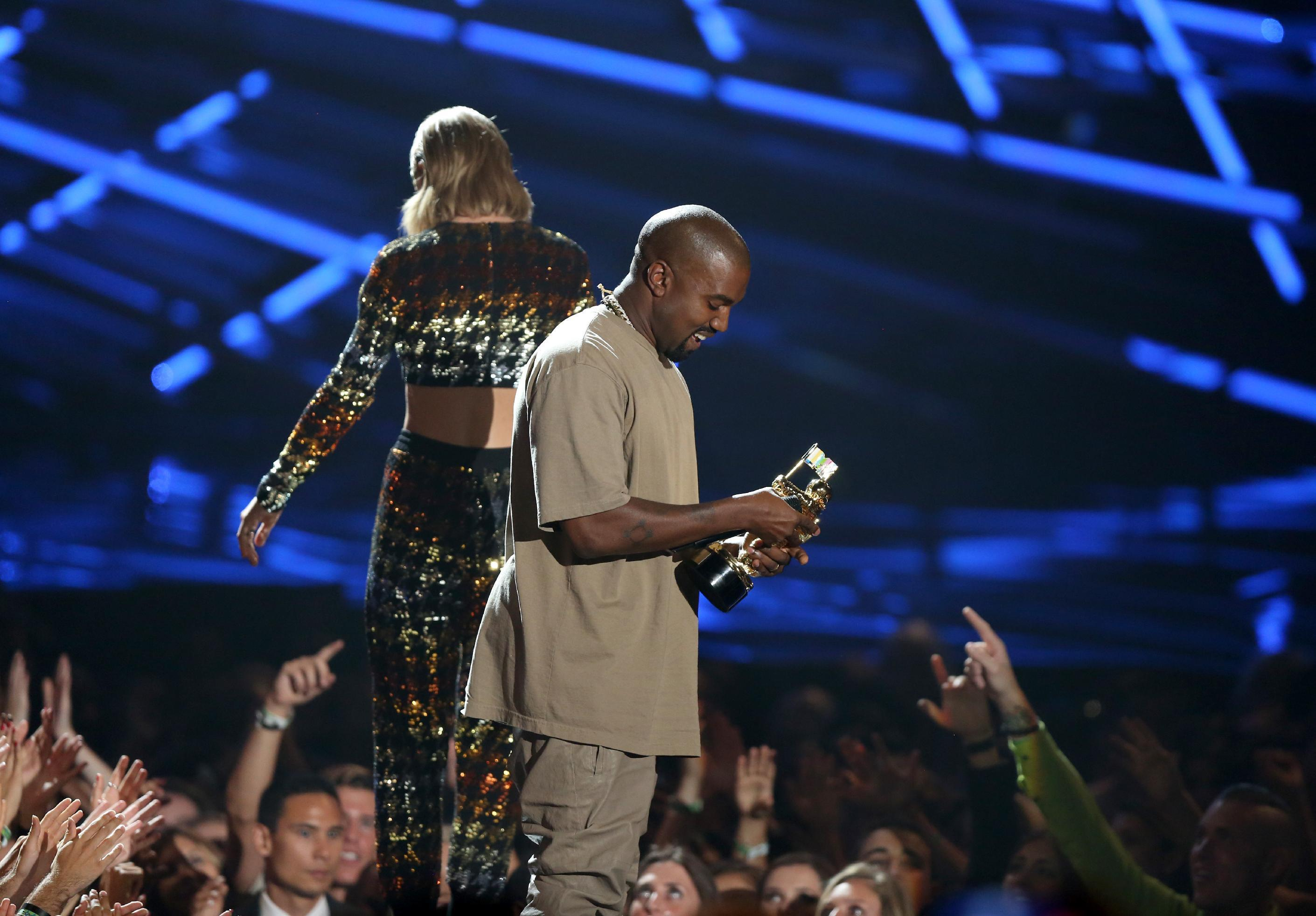 MTV VMA memorable moments from Kanye to Miley