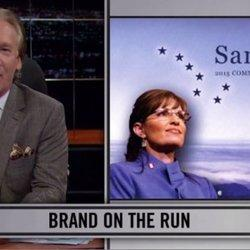 Bill Maher Skewers Sarah Palin's PAC Logo On 'Real Time'