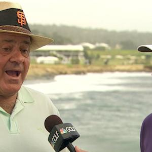 J.J. Henry and Chris Berman interview at AT&T Pebble Beach