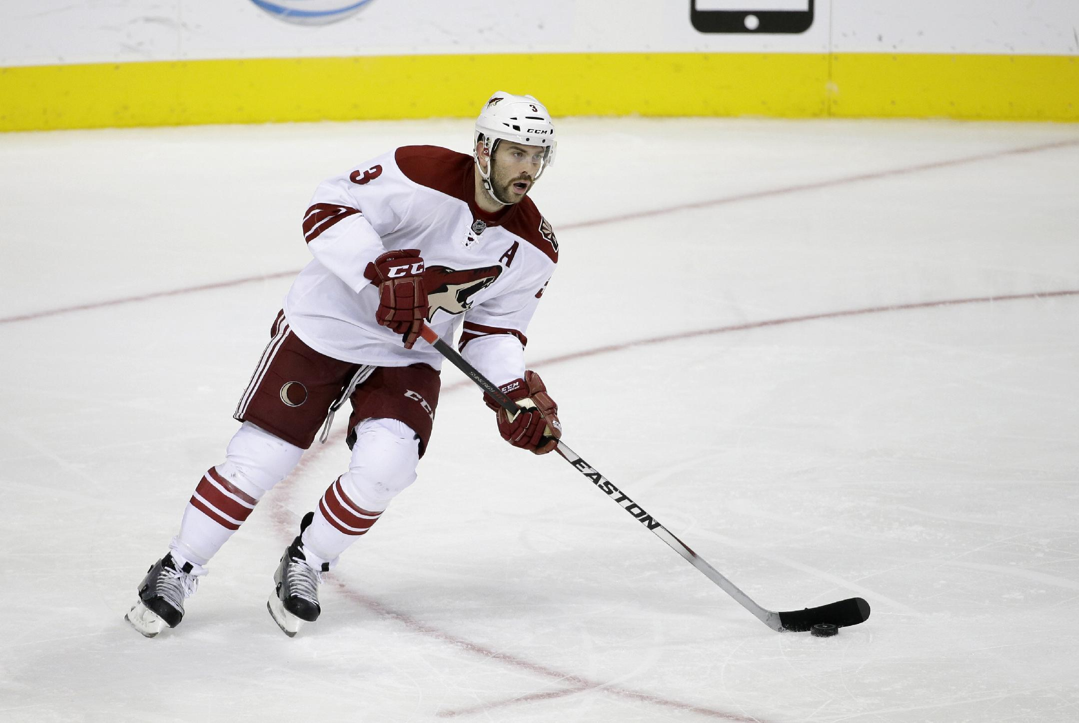 Arizona sends Keith Yandle to Rangers for 2 players, picks