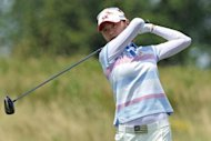 South Korea's Na Yeon Choi during the final round of the US Women's Open on July 8. Choi won the US Women's Open three weeks ago has come close at Evian