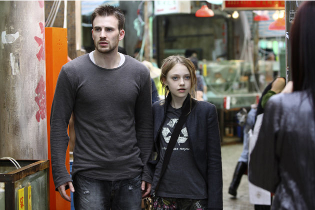 Chris Evans Dakota Fanning Push Production Stills Summit 2009