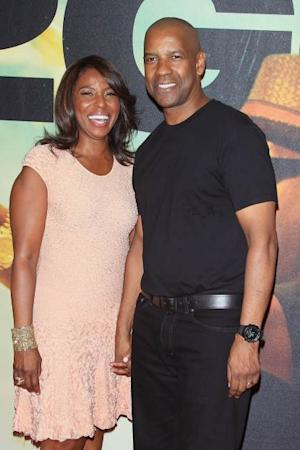 Pauletta Pearson Washington and Denzel Washington attend the '2 Guns' New York premiere on July 29, 2013 in New York City -- Getty Premium