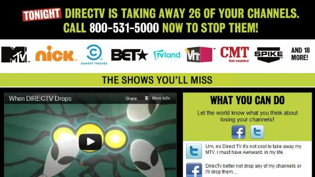 DirecTV to Drop Viacom Channels Tonight? Battle Erupts on Social Media