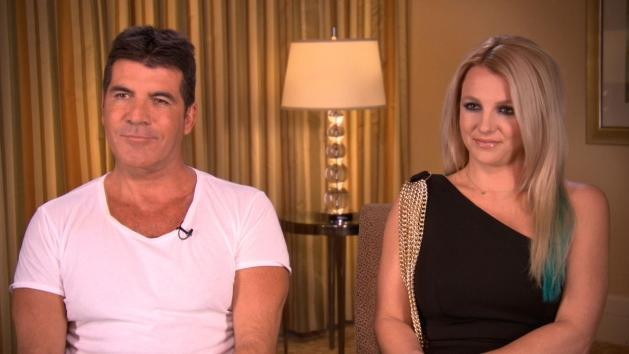 Simon Cowell and Britney Spears talk 'The X Factor' with Access Hollywood, Sept. 9, 2012 -- Access Hollywood