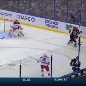 Ondrej Palat Hit on Riley Nash (06:53/1st)