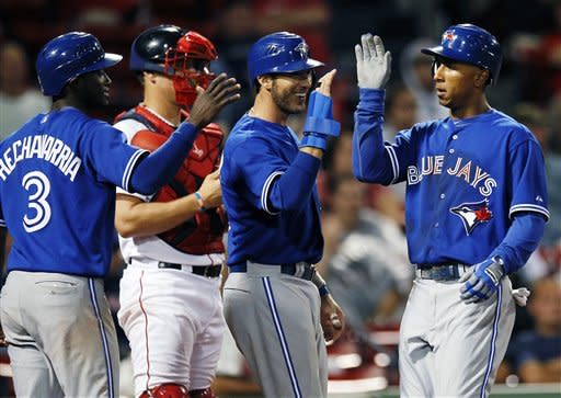 Blue Jays climb out last; beat Red Sox 9-2