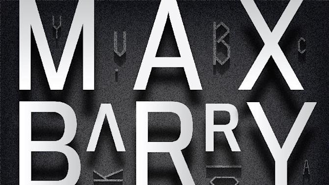 """This book cover image released by The Penguin Press shows """"Lexicon,"""" by Max Barry. (AP Photo/The Penguin Press)"""