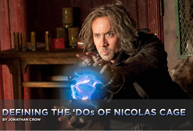 Defining the Dos of Nicolas Cage 2010 Title Card