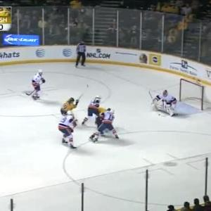 Jaroslav Halak Save on Matt Cullen (16:33/1st)
