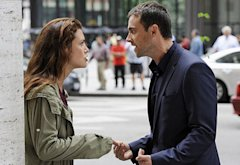 Hannah Ware and Stuart Townsend | Photo Credits: Jean Whiteside/ABC