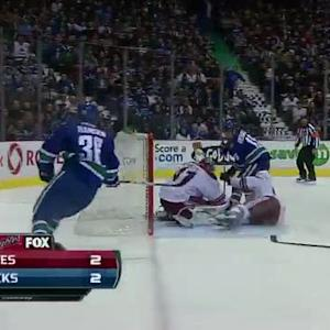 Mike Smith denies Richardson with clutch save