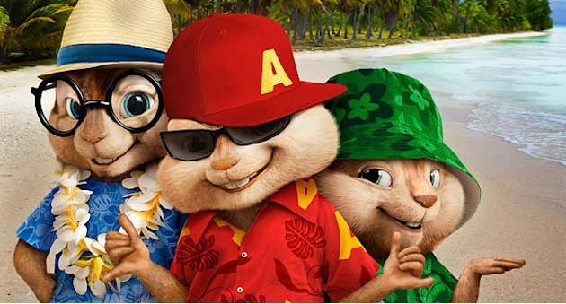 Alvin and the chipmunks Chipwrecked 2011 thumb
