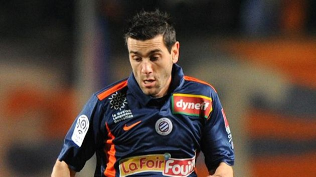 FOOTBALL Ligue 1 Cyril Jeunechamp of Montpellier