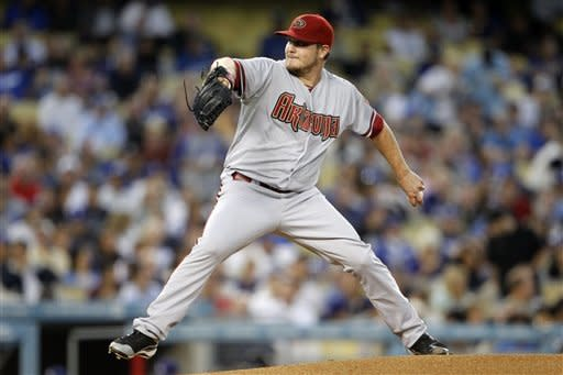 Diamondbacks top Dodgers 5-1