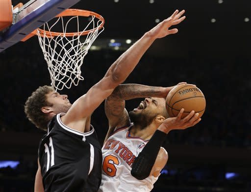 Nets beat Knicks to split four-game series